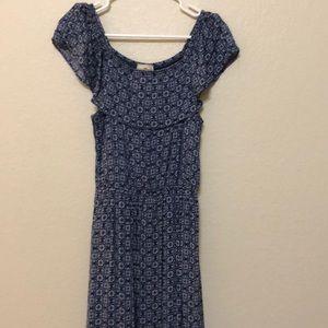 Dark blue long dress 👗